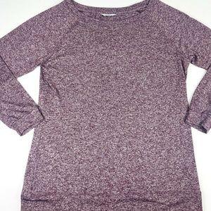Athleta Large Sweater Lightweight 3/4 Sleeve